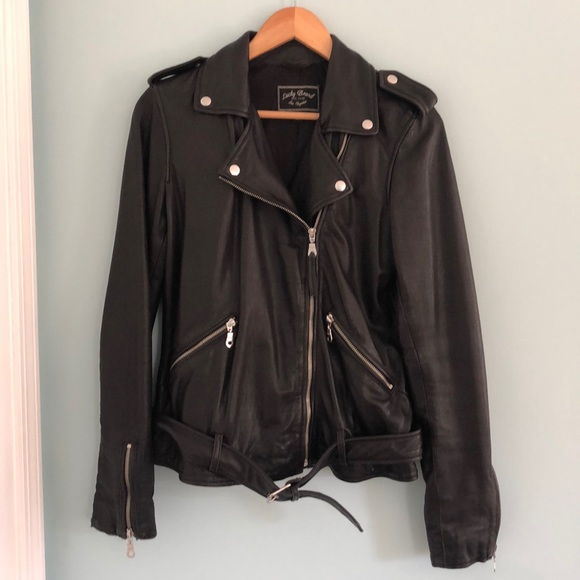 Lucky Brand Jackets & Blazers - Leather jacket